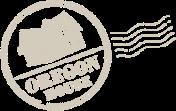 OREGON HOUSE スタンプ ロゴマーク