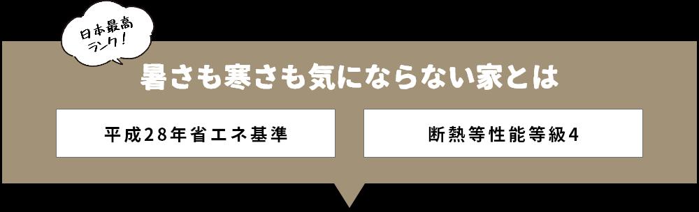 日本最高ランク 暑さも寒さも気にならない家とは