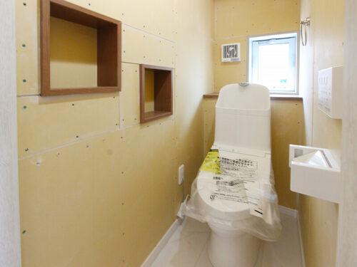 [1階トイレ]クロスを選べます